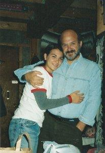 Dad and Tanya at Dylan's Fairbanks cabin